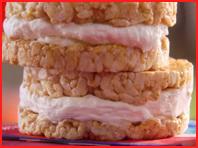Hungry Girl Recipe: Ginormous Creamy Frozen Caramel Crunchcake